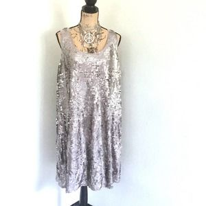 WORTHINGTON women sequins plus size 2X dress NEW